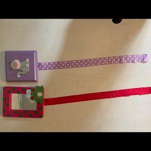 Barrette Ribbon Holders